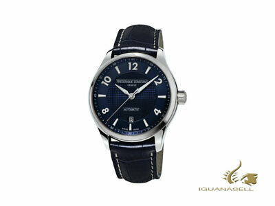 Frederique Constant Runabout Automatic Watch - Blue - Blue strap - 42 mm