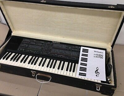 Technics SX-K700 Keyboard With Technics with hard case, fully tested and working