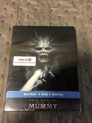 The Mummy SteelBook Bluray Dvd Digital Code. TOM CRUISE 2017 Sold Out USA