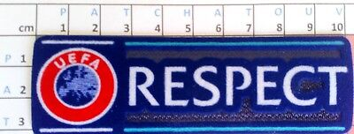 Europe Patch Badge RESPECT maillot foot Champion's Europa League, Coupe du Monde