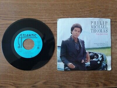 PROMO 1985 EXCELLENT RARE Philip-Michael Thomas Fish And Chips 7-99560 45
