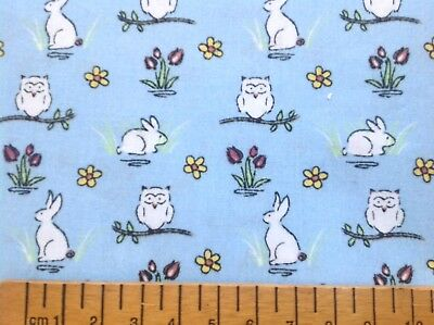 23cm X 25cm  REMNANT KOALA BEAR  DRESSED ANIMALS  PRINT COTTON FABRIC