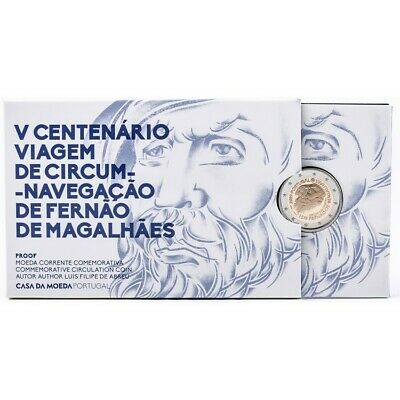 "2€ Conmemoratives Portugal 2019 ""Magallanes""Proof."