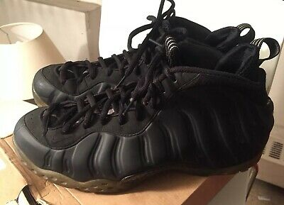 70fdab01f5c 2007 NIKE AIR Foamposite One Stealth Triple Black Anthracite Grey ...