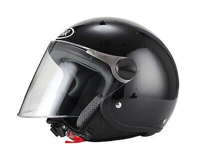Moto BHR Demi-Jet Helmet Mod Special 710/ Black and White Cool Line XL multi-coloured