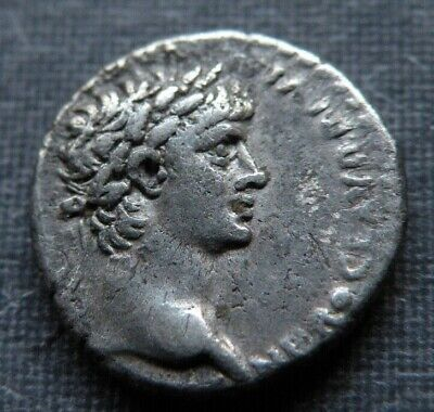 Silver Roman or Greek Ancient Coin Angel Cult Antique Unknown Early AD or BC Lot