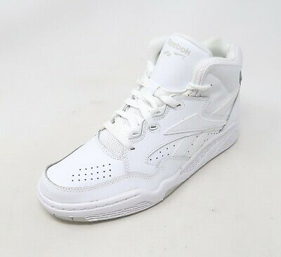 b55e194f3d9 REEBOK BB4600 MID Men s Basketball Shoes White Leather NWD 6.5 to ...