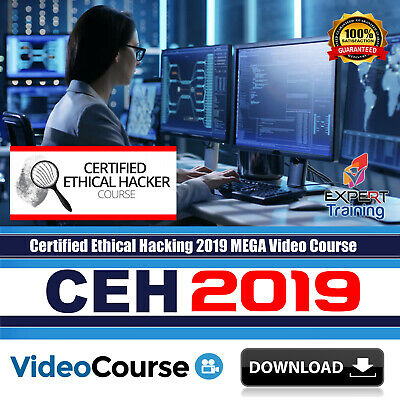 CEH - Certified Ethical Hacking 2019 updated Video Training Course DOWNLOAD