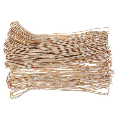2.87 Pounds Natural Raffia Paper Ribbon Twisted String Cord Home Wedding DIY