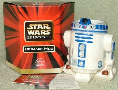 Star Wars Episode 1 R2-D2 Ceramic figural mug boxed (by Applause)
