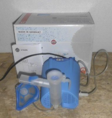 Original Pari Compact Inhalator Type 052 Vernebler Set Ovp Aquarium Pumpe Luft Fische & Aquarien