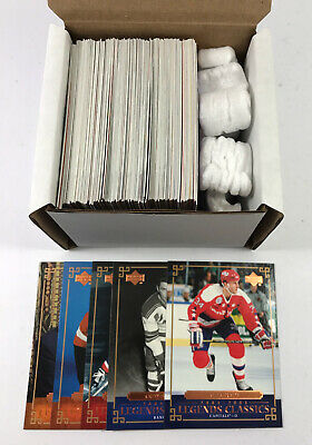 2004-05 UD Legends Classics Hockey Set (100) Avg Nm/Mt Gretzky Roy Howe Hull