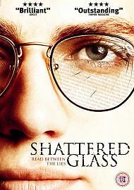 Shattered Glass [DVD] [2004], Acceptable, DVD, FREE & Fast Delivery