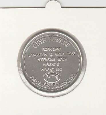 Doubloon New Orleans Gene Howard a New Orleans Saint (009)