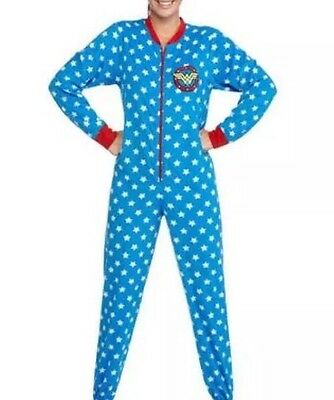 DC Comics Wonder Woman NON Footed Pajamas Altered 1 PC Costume 2XL EUC LAST ONE