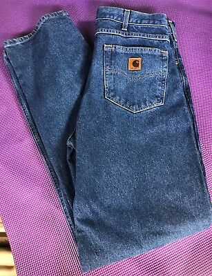 D10-160 Carhartt B160 DST Relaxed Fit Ready to ship Straight leg Jean 33x34