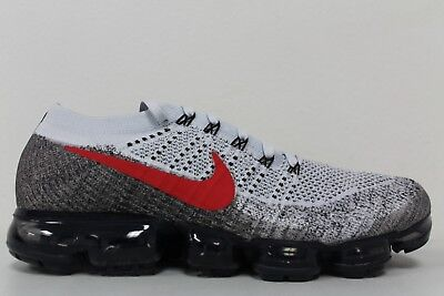 aee0718254 Nike Air Vapormax Flyknit OG Pure Platinum University Red 849558-020 Size 12