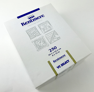 """Kentmere Variable Contrast Select Paper (8 x 10"""") Fine Luster, 250 Sheets #7306"""