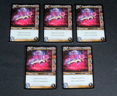 LOT OF (5) World of Warcraft WoW TCG Battlecast Pants Crafting