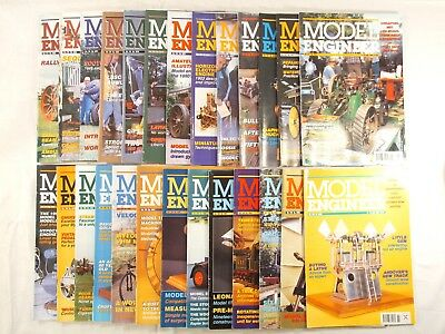 Model Engineer Magazines. 1998 Complete Year Of 26 Issues. Job Lot