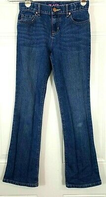 """Girls Size 12 Slim Bootcut The Childrens Place jeans inseam 26"""""""