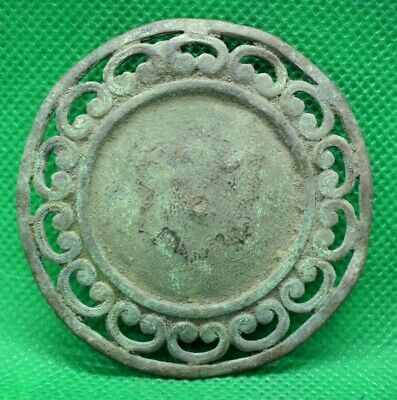 Huge Ancient Celtic Druids Solar Amulet Mount - 100 Bc