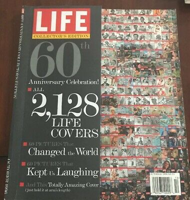 Life Magazine 60th Anniversary Collectors Edition Marilyn Monroe Cover