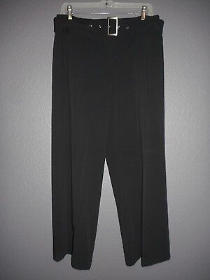 STYLE & CO. City Pants Onyx Black Petite Women's 12P Stretch NWT