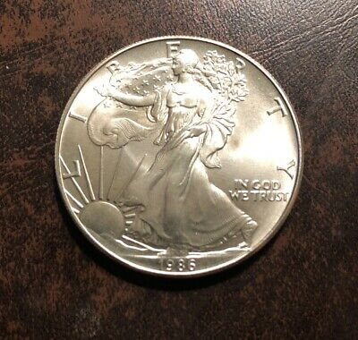 1986 $1 American Silver Eagle 1oz .999 First Year Coin