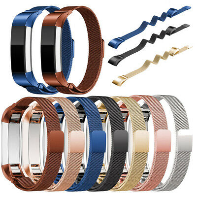 For Fitbit Alta/Alta HR Band Strap Stainless Steel Magnetic Wristband Watch NEW