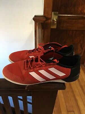 eb83394f0e3 Adidas ACE Tango 17.2 IN Indoor Soccer Shoes 12 Red-Black BA8542 Predator
