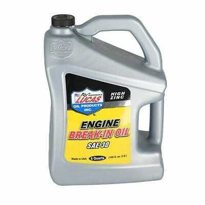 Engine Break-in Oil - SAE 30 5 Quart
