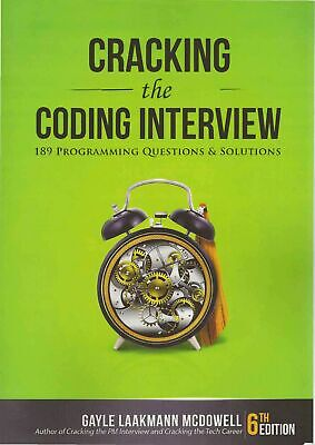 Cracking the Coding Interview 189 Programming Questions and Solutions (E-B00K)