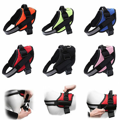 Strong Adjustable Power Dog Harness Reflective Pet Puppy Harnesses for XS-XXL