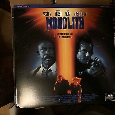 "Monolith - 12""  Laserdisc Buy 6 for free shipping"