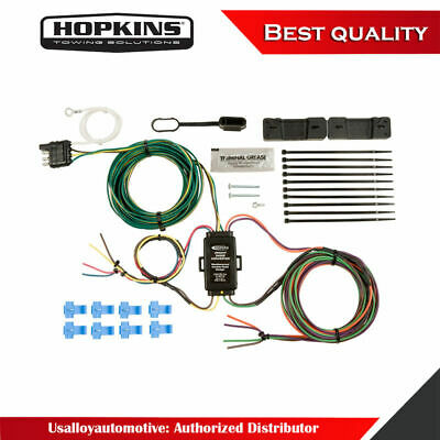 towing products & winches hopkins 43315 plug-in simple vehicle wiring kit