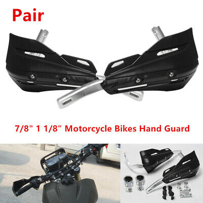 """7/8""""(22mm)1 1/8""""/28mm Motorcycle Bike Handguard Hand Guard Prevent Cold Wind L+R"""