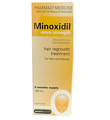 NEW Bellwether Minoxidil Extra Strength 5% (3 months supply) 180ml