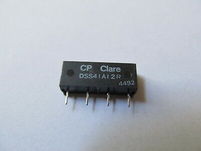 DSS41A12R Reed Relays 12V 500Ohm 0.5A (CP CLARE)