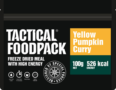 Tactical Foodpack Yellow Pumpkin Curry