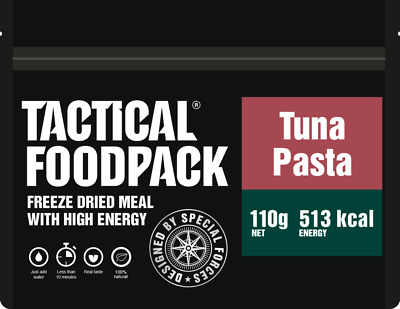 Tactical Foodpack Tuna Pasta Outdoor Nahrung Notverpflegung