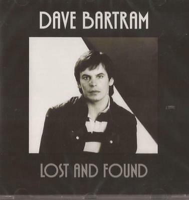 Dave Bartram - Lost And Found (CD) NEW / SEALED (Showaddywaddy)