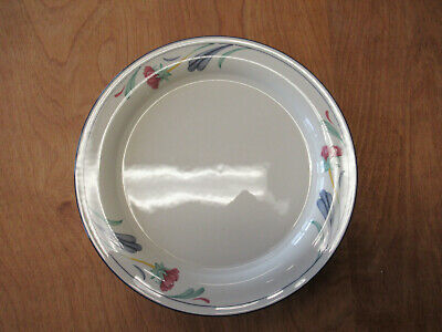 "Lenox Chinastone POPPIES ON BLUE Dinner Plate 10 3/4"" 1 ea    3 available"