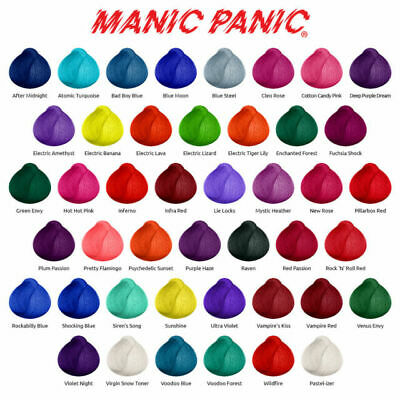 Manic Panic High Voltage Classic Cream Formula Hair Color 118ml - All Colours