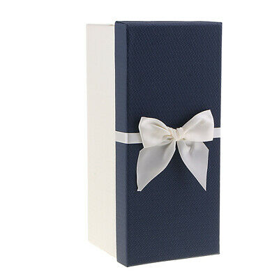 Colorized Fake Bouquet Gift Box Ribbon Bow Storage Paper Box for Wedding