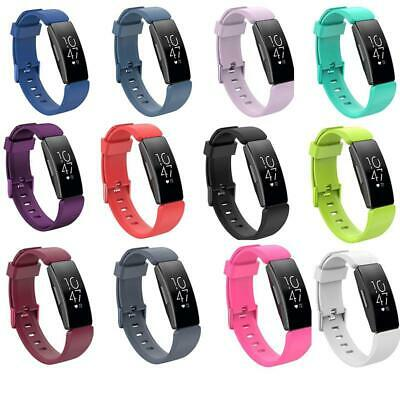 For Fitbit Inspire HR Silicone Replacement Wristband Strap Bracelet Replacement
