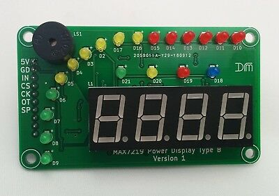 LED Bar Graph Power Display - Arduino - ESP8266 - Raspberry Pi