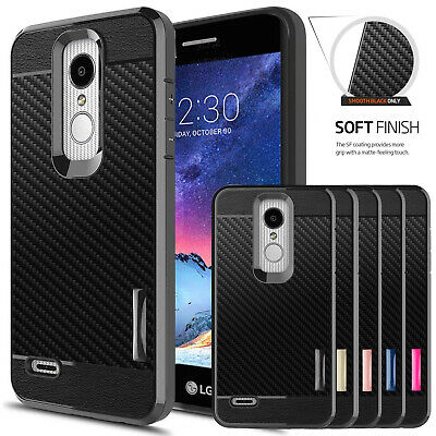 For LG Phoenix 4/Rebel 4/3/Tribute Empire/Fortune 2 Case Shockproof Phone Cover