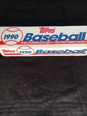 1990 Topps Baseball Complete Factory Set Sealed Unopened 425