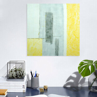 Pop Hand Painted Abstract Canvas Oil Painting Modern Wall Art Home Decor Framed